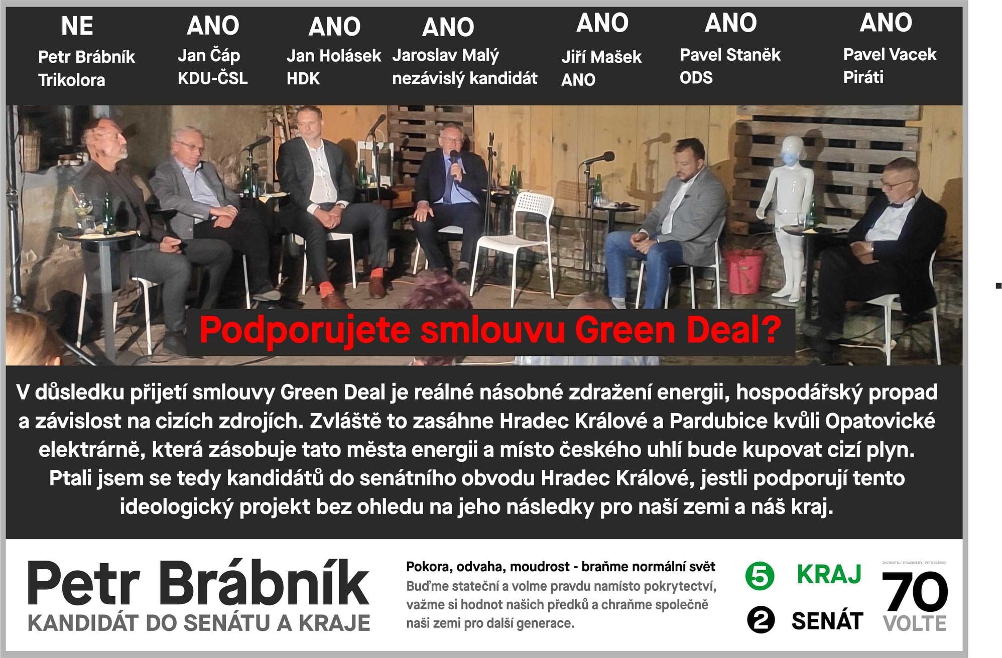 Ptám se za vás – Green Deal